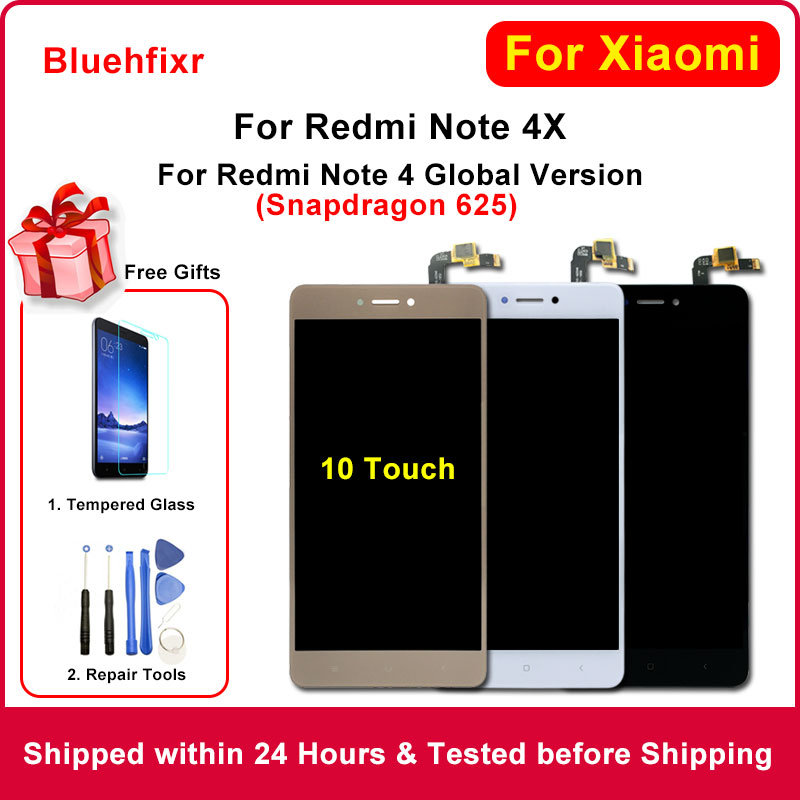 Original for <font><b>Xiaomi</b></font> <font><b>Redmi</b></font> <font><b>Note</b></font> <font><b>4X</b></font> <font><b>LCD</b></font> <font><b>Display</b></font> Touch Screen with Frame for <font><b>Redmi</b></font> <font><b>Note</b></font> 4 Global Version <font><b>LCD</b></font> For Snapdragon 625 image