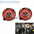 Комплект из 2 предметов, новая вентиляции Картера ПВХ клапаны для BMW 545I 550I 645I 650I 745I 750I ALPINA B7 X5 регулирующий клапан 11127537733 1112754705