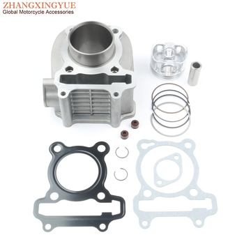 Scooter Cylinder Kit & Piston Kit & Cylinder Gasket for SYM Euro MX VS Allo 125 Cello Fiddle 3 ORBIT 2 125cc 12100-ARA-000