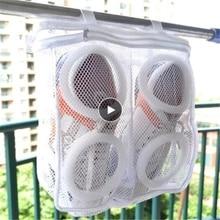 2PCS/1PC Laundry Bag Shoes Organizer Bag For Shoe Mesh Laundry Shoes Bags Dry Shoe Home Organizer Portable Laundry Washing Bags