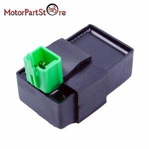 Image 4 - 5 broches CDI boîte allumage une prise pour Honda XR CRF 50 70 90 110 125cc 4 temps saleté Pit Bike ATV Quad Go Kart Taotao Kazuma Sunl
