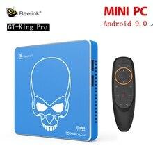 Beelink GT-rey Pro TV Box Android 9,0 WIFI6 MINI S922X-H DDR4 5G 1000M LAN bluetooth 4,1 Android Control de voz Set Top Box