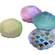 Блестящие тени для век 14 цветов пигментные Палитра матовые