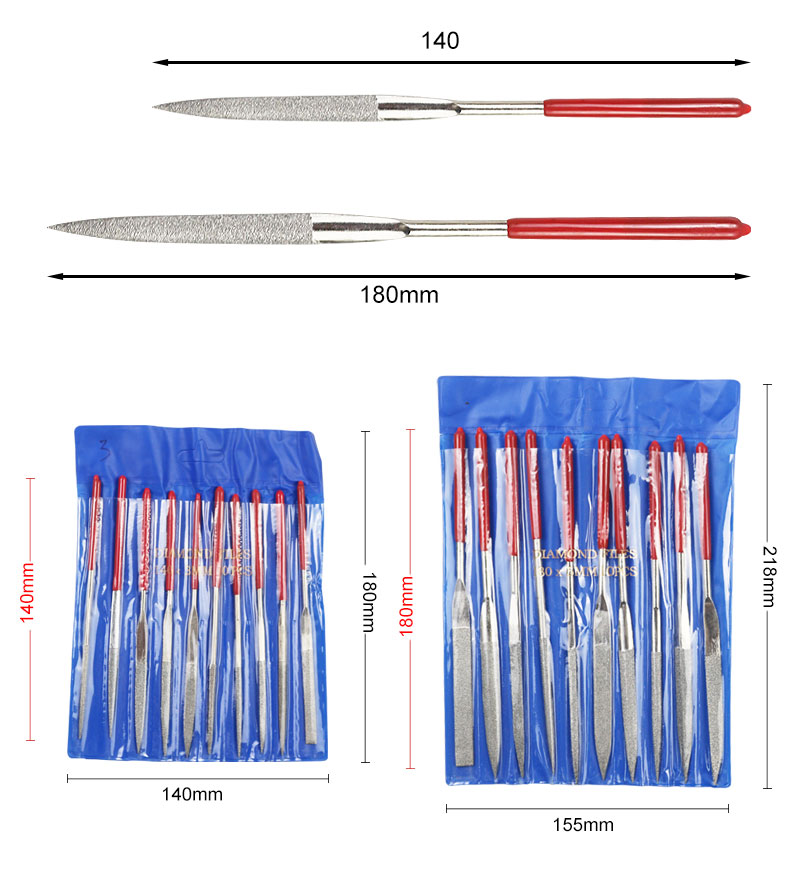 Best Deal│Point-Needle-Bits Tapered Grinding-Head Dremel-Accessories Lapidary-Tools with Stone-File
