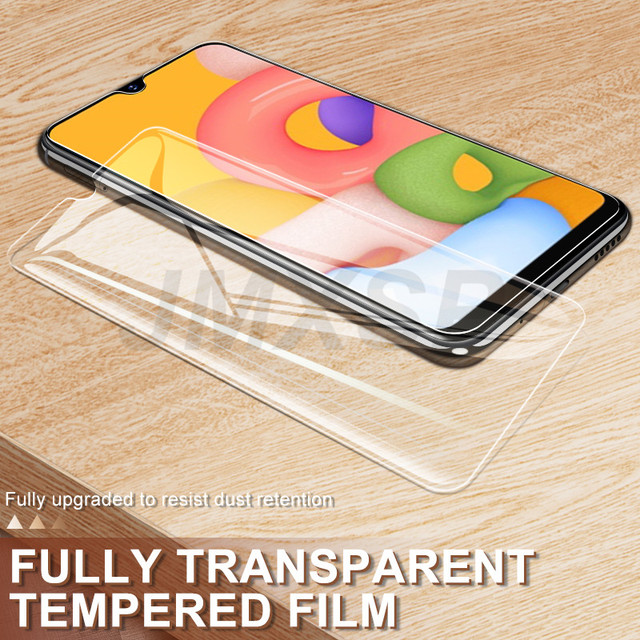 3Pcs Tempered Glass For Samsung Galaxy A01 A11 A21 A31 A41 A51 A71 Protective Glass M01 M11 M21 M31 M51 A10 A20 A30 A50 Glass 4