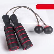 Akülü rulman halat atlama spor ve Fitness çelik tel ev egzersiz PVC atlama ipi hız Crossfit taşınabilir