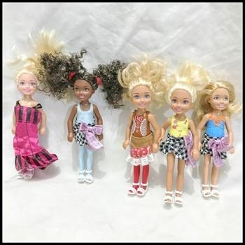 Cute Kelly Play House Baby Doll Diy Fashion Doll Toy Kids Girl Doll House Birthday Gift