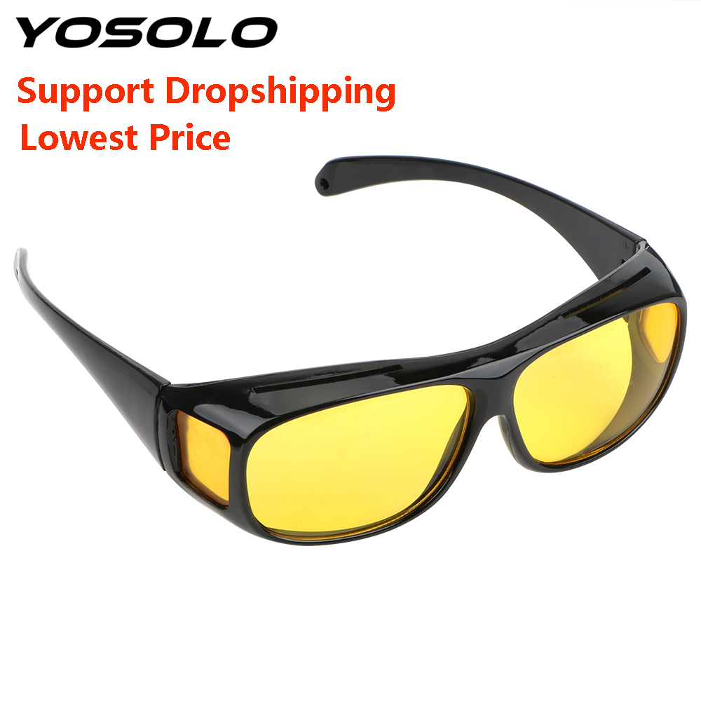 Night Vision  Glasses Car Driver Goggles Dropshipping Wholesale