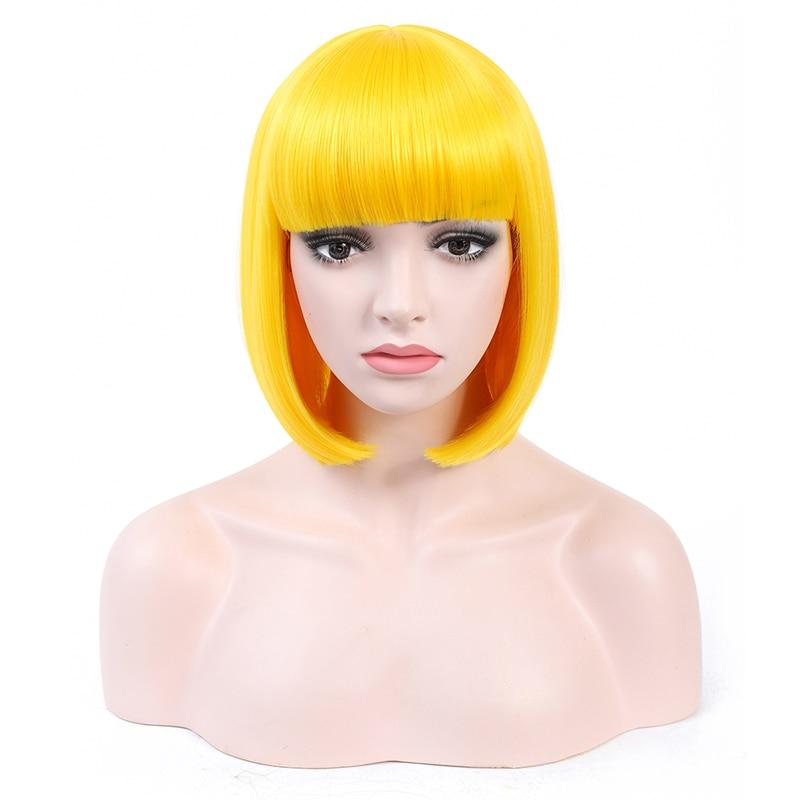 coloridas para a mulher cosplay party perucas