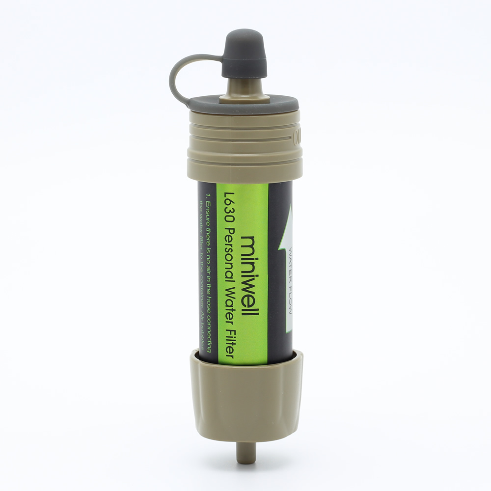 Miniwell Multifunctional Camping Water Filter For Outdoor Trip And Recreational Activities