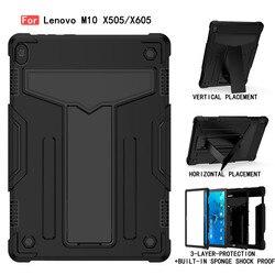 Coque pour Lenovo Tab M10 TB-X505F TB-X605L TB-X605 10.1