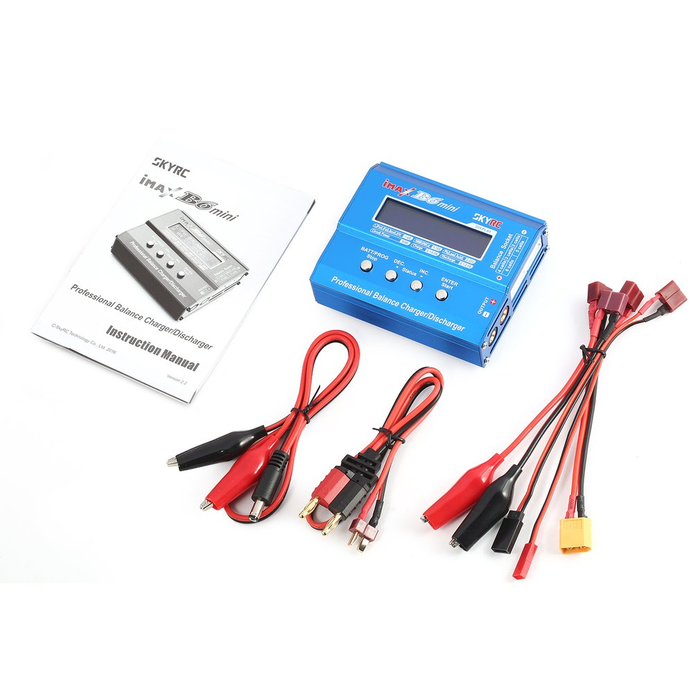 SKYRC IMAX B6 Mini RC Balance Charger Discharger 60W For LiPo Li-ion LiFe Nimh Nicd Battery RC Helicopter Car Drone Airplane