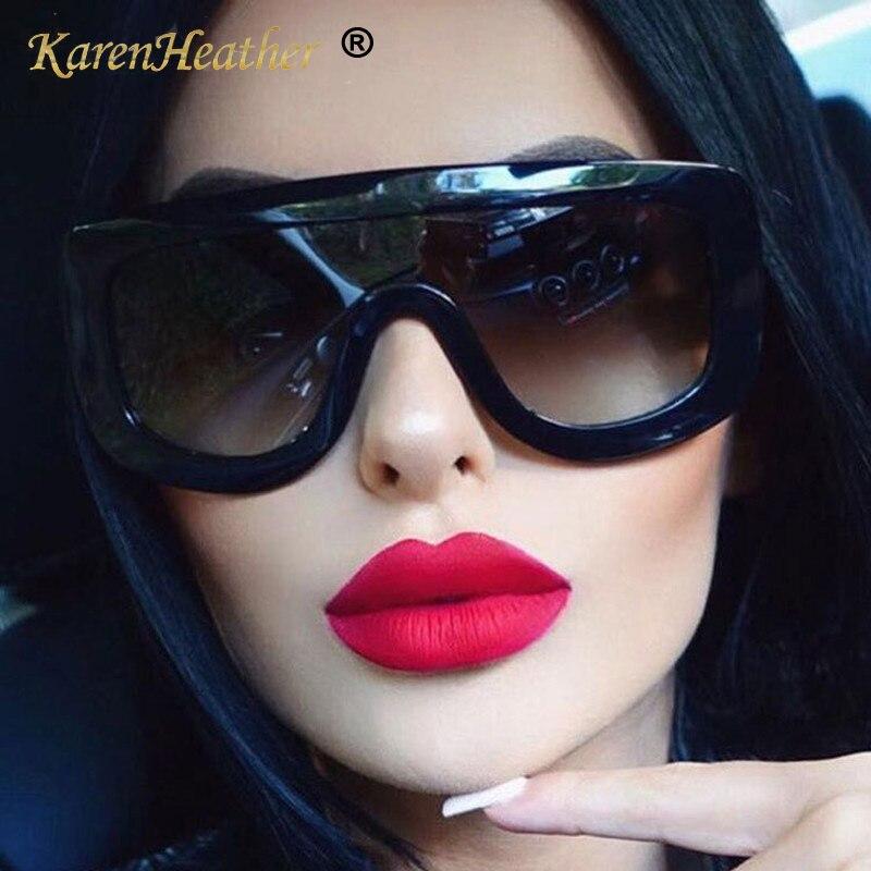 KARENHEATHER Large Sunglasses Windproof Goggles Lentes-De-Sol Fashion Cool Street Integrated