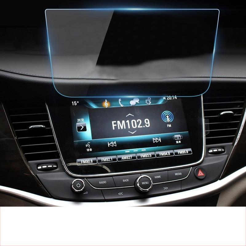 Lsrtw2017 voiture navigation GPS écran de protection film trempé pour opel Astra K 2016 2017 2018 2019 buick verano gs opel mokka