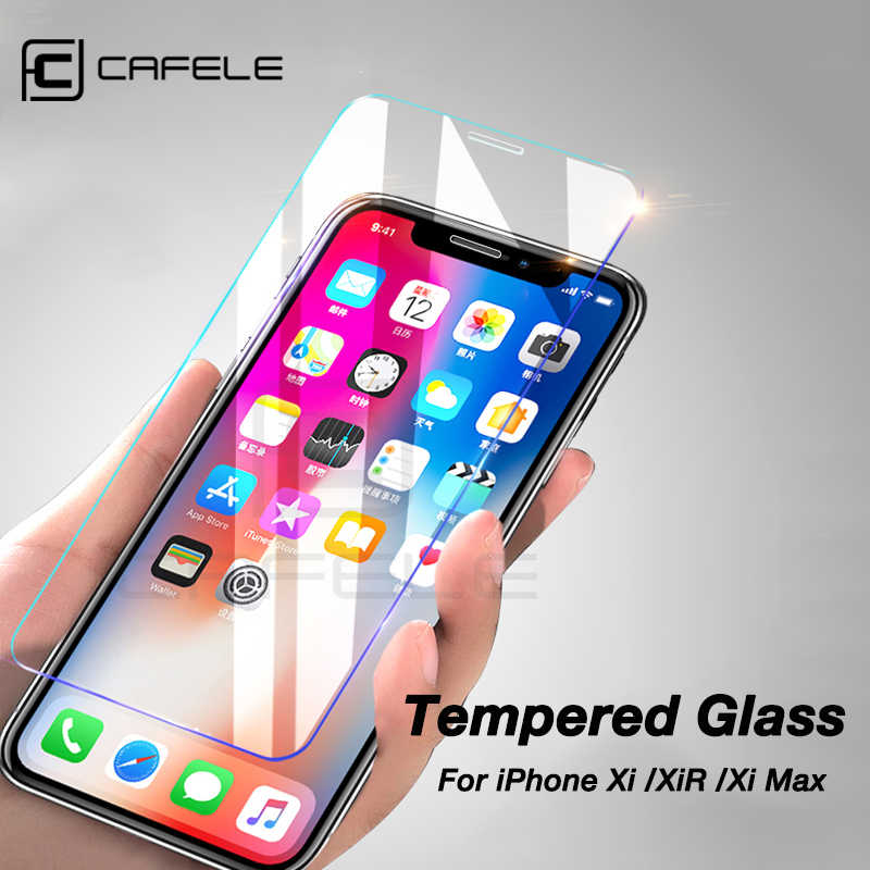 CAFELE Protective Glass For iPhone 11 pro Max X Xs Max  Xr Screen Protector 2.5D edge HD Clear Anti Glare Tempered Glass Film