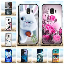 For Samsung Galaxy J2 Core Case Soft TPU SM-J260F Cover Floral Pattern Bag