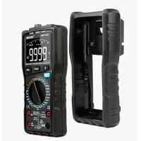 Dm100c multímetro digital de alta velocidade inteligente duplo núcleo t rms ncv temperatura multimetro anti queimadura fusível alarme multímetros|Multímetros| |  -