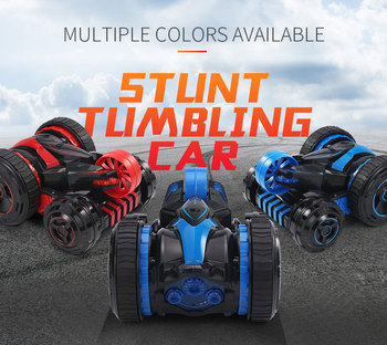 JJRC Q49 Stunt RC Car 2.4G 2WD Double-sided Flip One Key Transformation Off-road Climbing Racing Cars for Kids Toys image