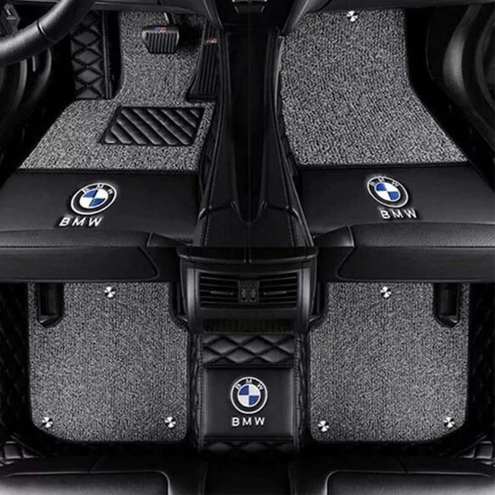 Dywaniki samochodowe z Logo/Logo marki dla Renault Scenic Fluence Latitud Koleos Laguna cc talizman stylowy dywan do samochodu wykładzina podłogowa