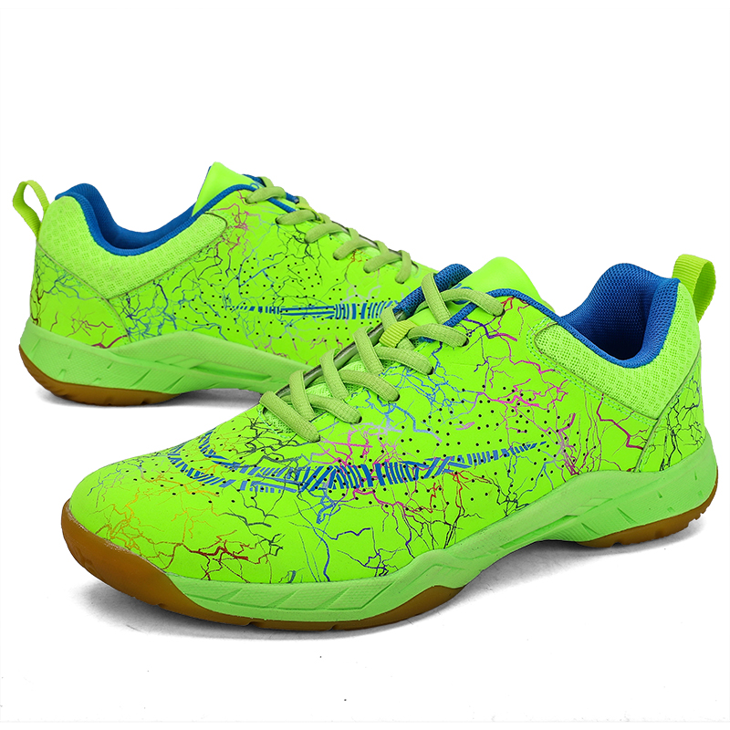 Breathable Badminton Shoes Men And Women Light Sport Shoes Anti-slippery Sneakers For Athletic Size 35-46