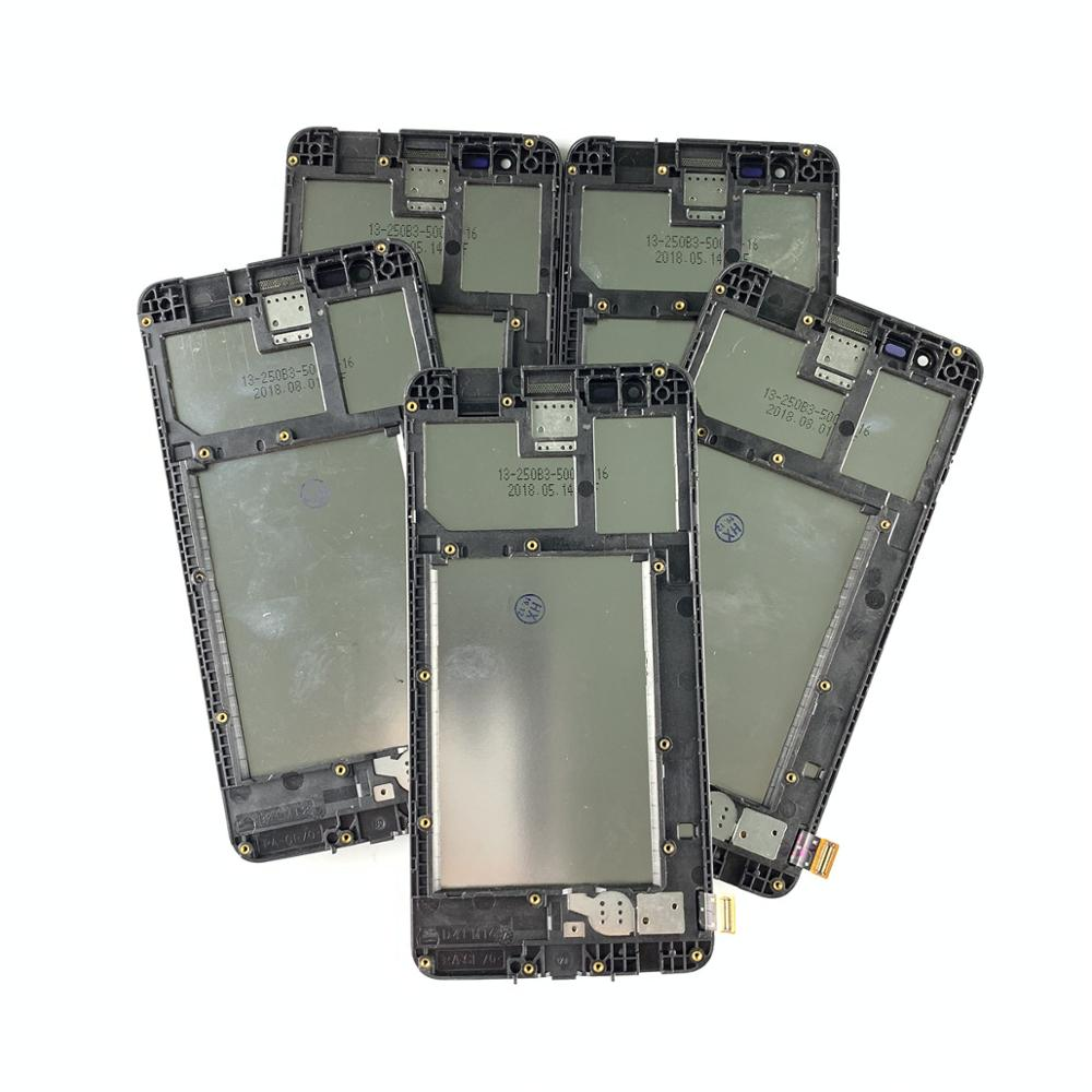 5 Piece/lot For <font><b>LG</b></font> K4 2017 <font><b>X230</b></font> X230F/DS <font><b>LCD</b></font> Display Touch Screen Digitizer Assembly with Frame For <font><b>LG</b></font> X230K <font><b>LCD</b></font> Replacement image