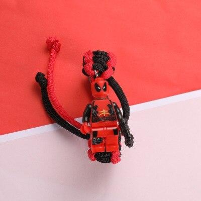История игрушек 4 Вуди Базз Лайтер браслет Мстители эндшпиль Железный человек сайдерман браслет строительные блоки Actiefiguren Kinderen подарок - Цвет: 28