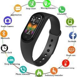 M5 Smart Uhr Frauen Bluetooth Anruf/Musik Smart Band Wasserdicht Herz Rate Blutdruck Männer Gesundheit Armband Smart Armband
