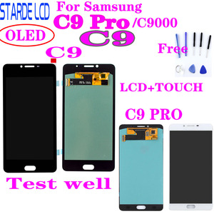 For SAMSUNG Galaxy C9 Pro C9000 C9 LCD Display Touch Screen Digitizer Replacement Parts For SAMSUNG C9 Pro LCD(China)