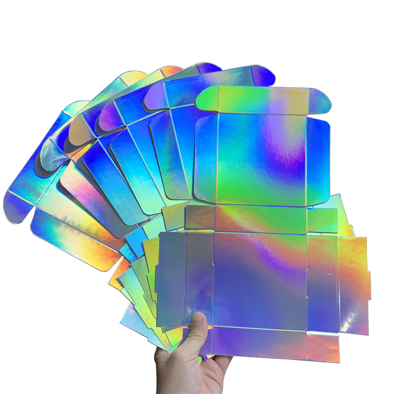 wedding : Holographic Gift Box for Party Wedding Souvenir Box 2 size available 20pcs lot