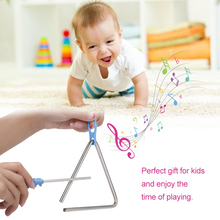 Triangle Musical Instruments Band Percussion Educational Musical Triangolo for Children Gift Children's Musical Toys