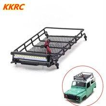 Porte-bagages en métal, support de toit avec accessoires légers pour voiture 1/12 RC MN D90 D91 D99 MN90 MN99S, pièces de mise à niveau