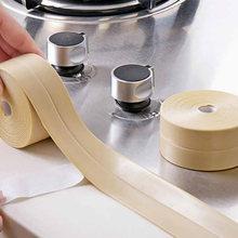 Уплотнительная лента для ванной душа раковины ванны белая ПВХ
