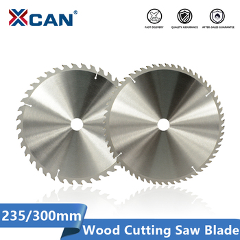 цена на XCAN Wood Cutting Disc 235 300mm Carbide Tipped Wood Blade 24 40 48 60 Teeth TCT Circular Saw Blade for Wood Saw Disc