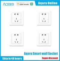 Aqara Smart steckdose Zigbee wifi Remotel Kontrolle Drahtlose Schalter Arbeit Für Smart-home-kits APP Für Xiaomi Smart home kits APP