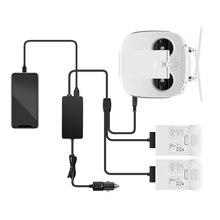 Автомобильное зарядное устройство для DJI Phantom 4 Pro, портативное быстрое зарядное устройство с пультом дистанционного управления