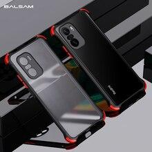 Shockproof Armor Phone Case For Xiaomi Mi 11 i 10S 10T Ultra Poco X3 F3 Redmi Note 10 9 7 8 K40 Pro Lite Transparent Matte Cover