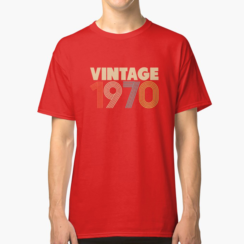 <font><b>Vintage</b></font> <font><b>1970</b></font> - 48th Birthday T shirt 48 48th 48yr old birthday <font><b>1970</b></font> gift for him gift for her bithday year old Asian image