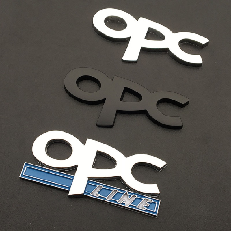 Image 4 - OPC line Emblem Badge Car Styling Stickers emblem Front Grille For Opel Mokka Corsa Meriva Zafira Astra J H G Vectra Antara in-in Car Stickers from Automobiles & Motorcycles
