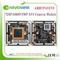 720P 1080P 5MP AHD TVI CVI CCTV модуль камеры 2MP XVI плата камеры CVBS HD аналоговый охранный CCTV камера сигнализация