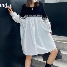 Xuxi сплайсинга Новое уличное платье корейское тонкое вязаное
