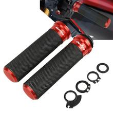 For Honda CB600F/CB650F Hornet 2007-2013 2008 2009 2010 2011 2012 Motorcycle Handlebar Grips & Handle Bar Ends 7/822mm Hand Cap motorcycle 7 8 22mm bicycle grips precision cnc machined handlebar grips bar cap motor hand bar for honda hornet