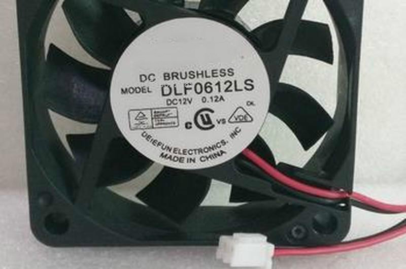 For 6CM 6015 12V Cooling Fan DLF0612S 12V 0.12A Free Shipping