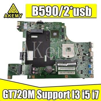 New for Lenovo B590 B580 V580c laptop motherboard test Mianboard LA58 MB 11273-1 48.4TE01.011 Support I3 i5 i7 2*usb GT720M 1GB