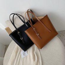 Women's Bag Large-capacity Tote Bag 2020 New European And American Fashion Single Shoulder Bag Simple Child Handbag цена и фото