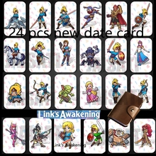 24 sztuk NTAG215 Zelda karta NFC 20 serce wilk Revali Mipha Daruk Urbosa dla amiibo gra legenda oddech dzikości przełącznik NS