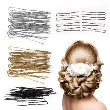 Новая мода 20 шт. u-образный шпилька волнистые волосы заколки металлическая заколка для женщин инструменты для посуды аксессуары для волос