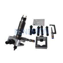 Universal Diesel Service CR Test Bench Fuel Injector Adapter Fixture Clamping Holder Repair Common Rail Tool forBOSCH/DENSO