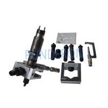 Universal serviço diesel cr banco de teste adaptador injector combustível fixação titular reparação ferramenta trilho comum forbosch/denso