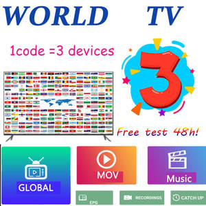 3 devices global World  1P  TV M3U  1p  tv  USA UK  Spanish for Android tv m3u enigma2 TV box PC support