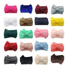 Puff arco do bebê faixa de cabelo grande bowknot para o bebê meninas boutique headbands moda acessórios para el cabello para ni